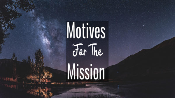 Motives for the Mission Image